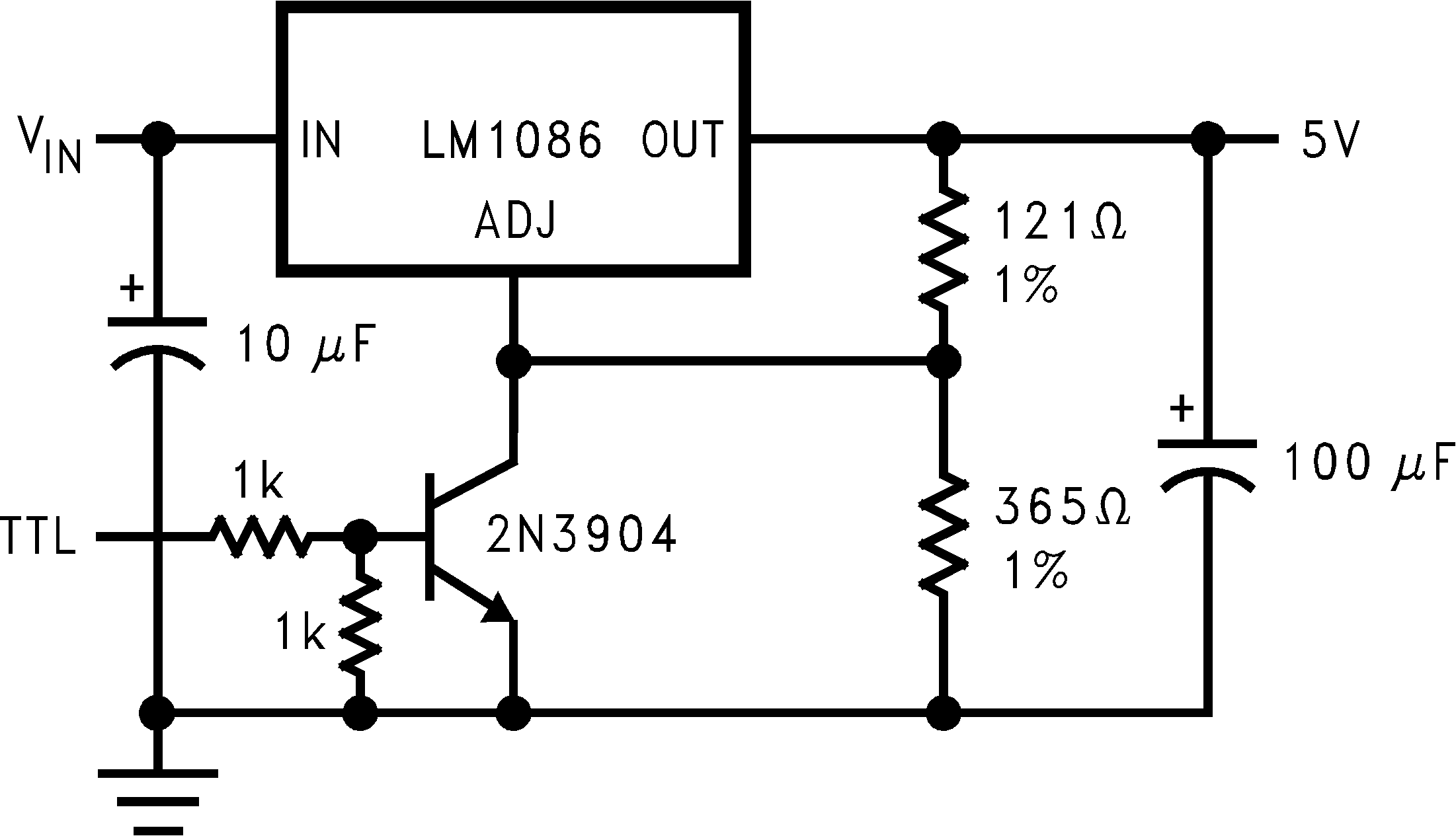 lm1086 datasheet 1 5a fixed adjustable output linear regulator