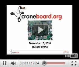 Craneboard video