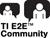 TI E2E Community